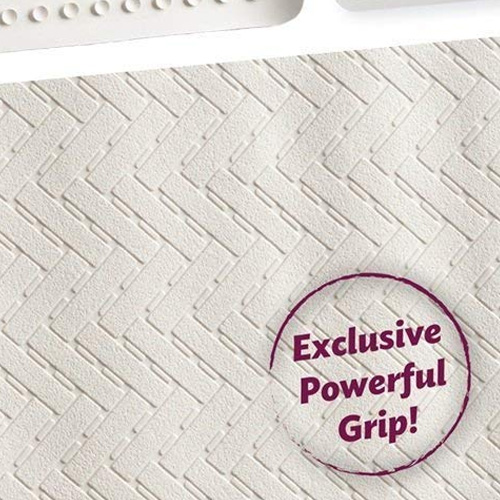 Epica Anti-Slip Machine Washable Anti-Bacterial Bath Mat 16 x 28 4