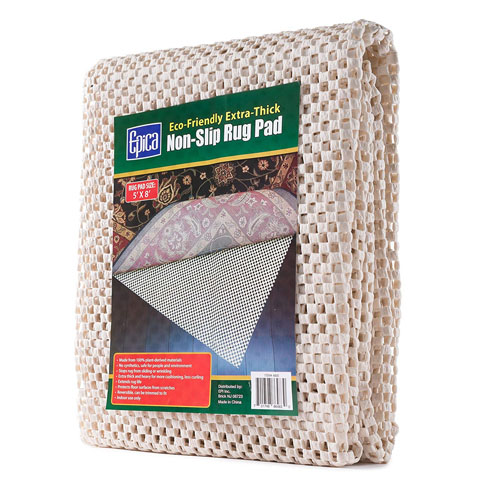 Epica Eco-Friendly Extra-Thick Non-Slip Rug Pad 5ft x 8ft 1