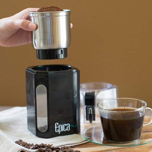Epica Electric Spice and Coffee Grinder 5