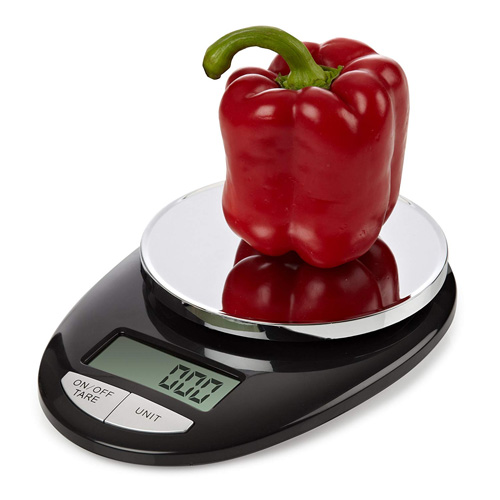 Epica TM Accupro Digital Kitchen Scale 11 lbs Capacity