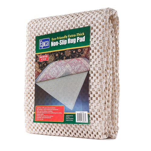 Epica Eco-Friendly Extra-Thick Non-Slip Rug Pad 4ft x 6ft 1